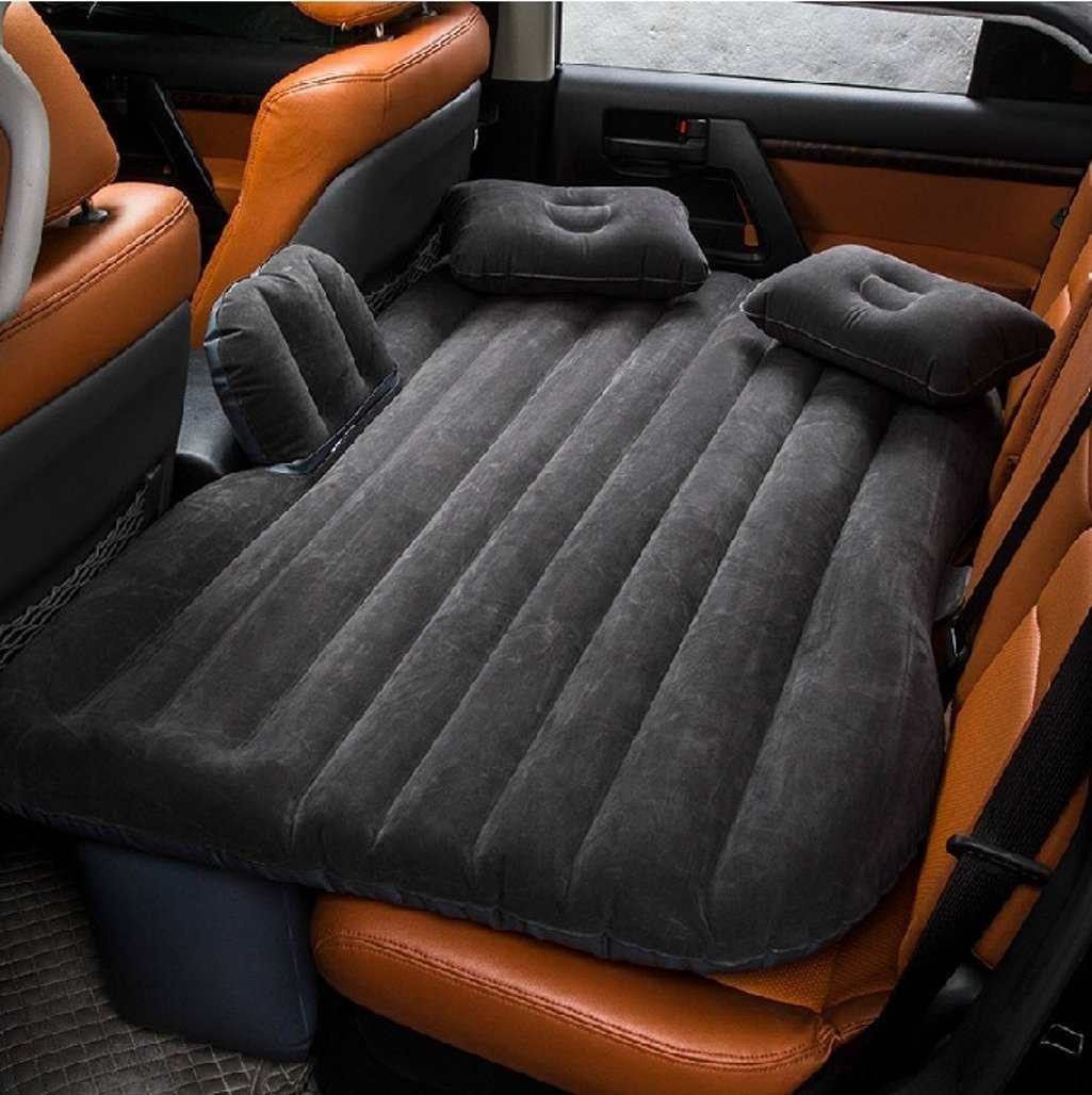 Inflatable Car Air Mattress Lazyop