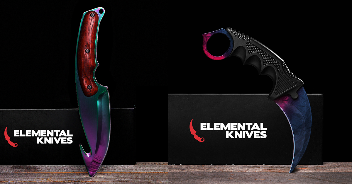Levitating Bed Elemental CS:GO Knives - Lazyop