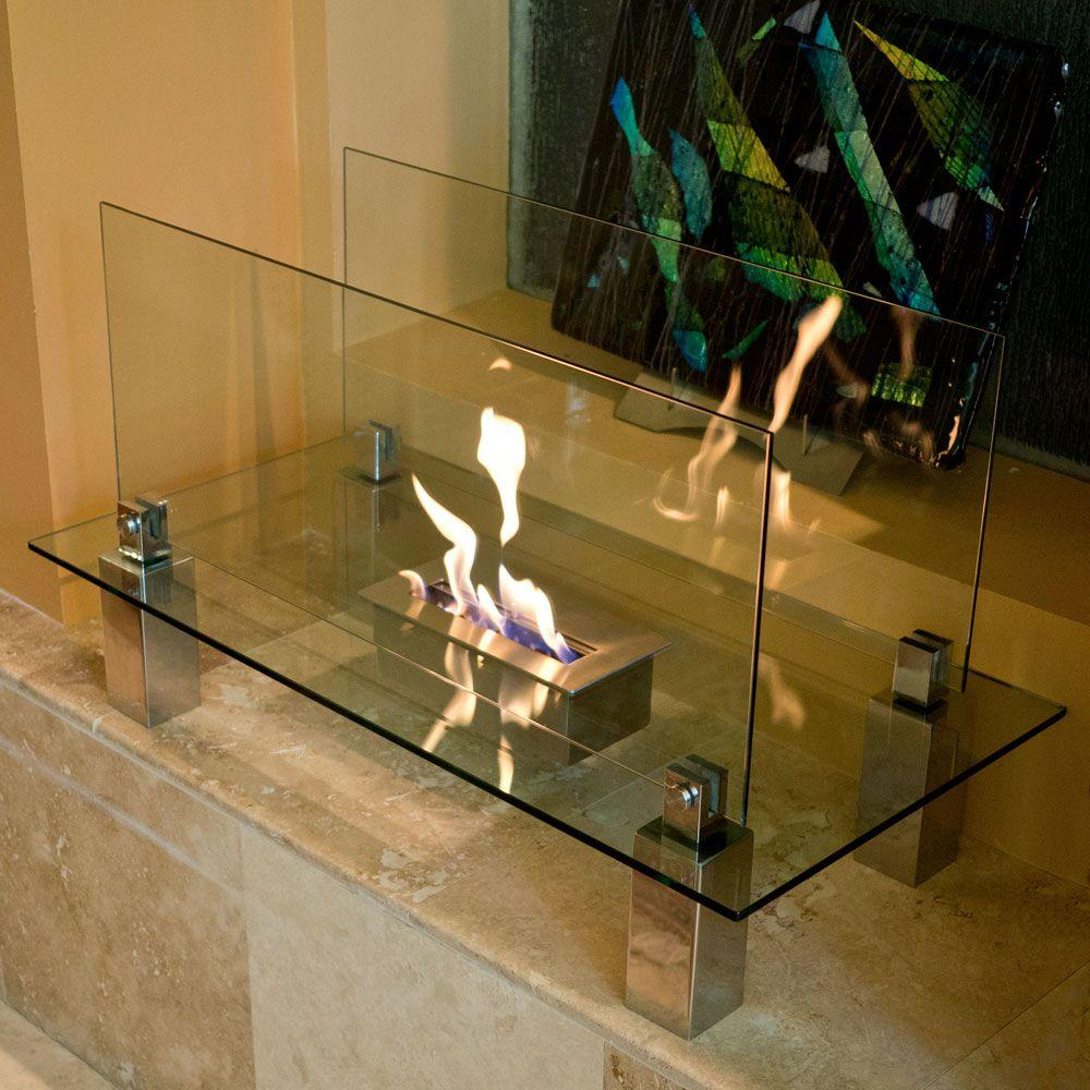 pin portable fireplace ghost freestanding